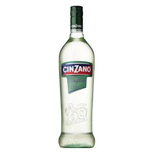 Cinzano Vermouth仙山露干味美思威末酒配制酒鸡尾酒1L意大利进口
