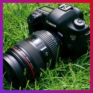 送脚架佳能5D2 5D3 6D单机套机专业高清<span class=H>数码</span>旅游摄影二手单反相机