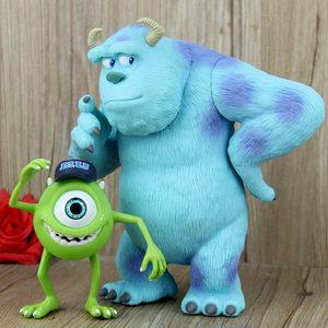 Q-电影<span class=H>怪物</span>电力公司可动玩偶怪兽大学大眼仔毛怪苏利文公仔模型摆