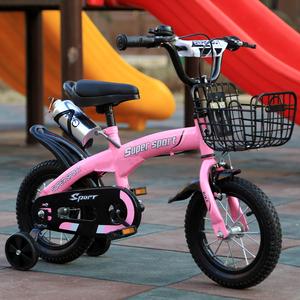 新款儿童<span class=H>自行车</span>16寸小孩童车14寸宝宝2-3-6岁男女12-18寸正品单车