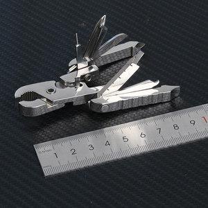 多功能工具钳子科技折叠钥匙扣随身迷你户外组合便携式螺丝刀