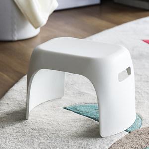 收纳凳家用可坐长方形塑料卧室加厚椅子创意成人儿童休息<span class=H>储物凳</span>