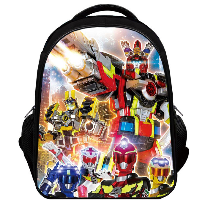 Huge absolute being war shot brigade schoolbag child 3 d double shoulder kid the park cartoon shoulder bag primary school give birth to a grade 1-6 male 2-12 years old - intl