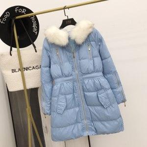 反季特价棉衣女冬中长款棉服外套修身短款过膝小个子羽绒棉袄