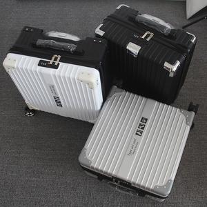 行李箱男女士小拉杆箱18寸小型旅行<span class=H>箱包</span>20寸登机密码箱复古轻便22