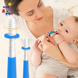 MDB婴儿吸鼻器 新生儿清理鼻涕屎软化棒<span class=H>宝宝</span>清洁<span class=H>鼻腔</span>鼻塞儿童鼻刷