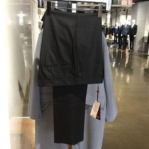 <span class=H>威可多</span>专柜正品 16款 秋冬男士商务版黑色修身 羊毛不易皱 单<span class=H>西裤</span>