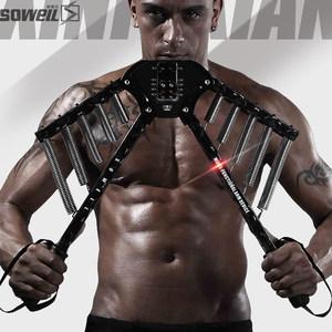 健身器材<span class=H>家用</span>臂力器60kg臂力棒20扩胸50拉力<span class=H>锻炼</span>训练胸肌练臂肌男