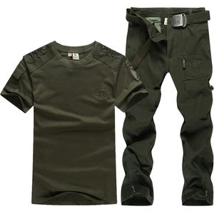 军野行户外套装男野战迷彩特种兵作训服登山军训服工作服军迷服饰