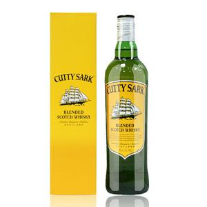 顺风<span class=H>威士忌</span> 进口洋酒 绿皮书<span class=H>威士忌</span> 苏格兰 CUTTY SARK 带盒700ml