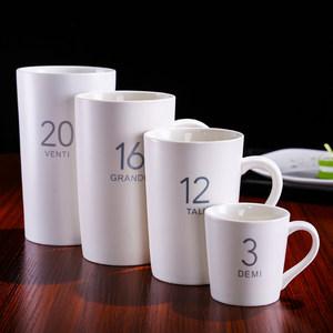 杯子陶瓷马克杯带盖<span class=H>勺</span>牛奶<span class=H>咖啡</span>杯大容量简约创意情侣<span class=H>水杯</span>个性定制