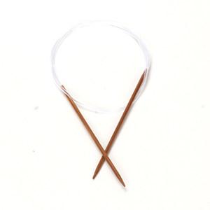 碳化<span class=H>竹</span>环形毛衣针 毛线针套装 编织工具<span class=H>竹</span>子 <span class=H>环形针</span>套装 散装