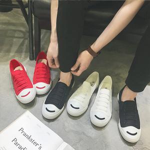 <span class=H>帆布</span><span class=H>鞋</span>男夏季休闲<span class=H>鞋</span>懒人快手红人同款一脚蹬<span class=H>男鞋</span>社会精神小伙<span class=H>鞋子</span>