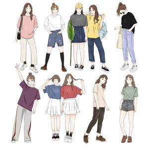 DAFA研究所 韩版港味基础款宽松纯色白色<span class=H>t恤</span>女 短袖2019新款上衣