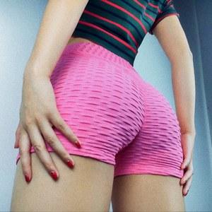 ins超火的性感<span class=H>紧身</span>运动健身短裤<span class=H>女</span>夏薄款蜜桃高腰显臀瑜伽<span class=H>热裤</span>潮