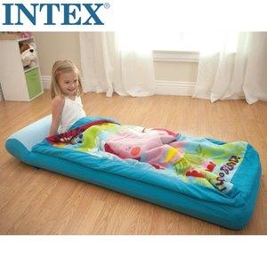 包邮送气泵手提包 正品INTEX儿童充气<span class=H>床垫</span> 单人加厚气垫床 睡袋床