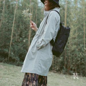 水洗牛皮纸包双肩包个性简约文艺百搭日系男女生电脑包原创设计