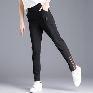 <span class=H>裤</span>子女夏2018新款薄款运动<span class=H>裤</span>女<span class=H>休闲</span><span class=H>裤</span>学生韩版百搭宽松小脚哈伦<span class=H>裤</span>