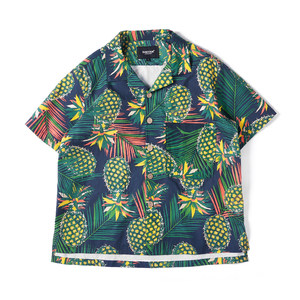 DAKYAM 2018S/S Pineapple <span class=H>Aloha</span> Shirt 菠萝款夏威夷短袖衬衫男