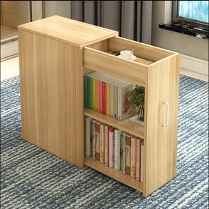 简约现代移动带门小书柜简易<span class=H>书架</span>收纳柜子阳台储物柜小户型置物柜
