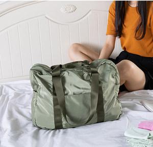 旅行<span class=H>袋</span>手提折叠旅行包女男轻便简约大容量收纳<span class=H>袋</span>防水短途行李<span class=H>袋</span>包