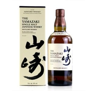洋酒 山崎1923单一麦芽威士忌 酒类 日本原装进口酒类 三得利酒类
