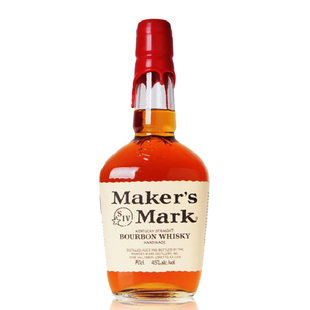 进口洋酒 美格波本威士忌Maker's Mark Bourbon Whisky700ML
