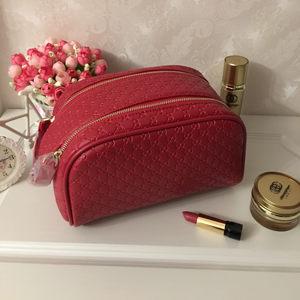 明星同款手提化妆包高端多功能双拉链<span class=H>洗漱包</span>旅行化妆品收纳包