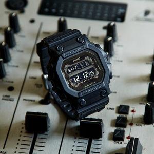 卡西欧gshock全黑太阳能巨G时尚潮流运动登山<span class=H>手表</span>男表GX-56BB-1