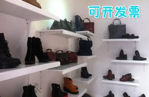 服装店鞋店货架<span class=H>鞋子</span>展示架上墙烤漆板壁挂<span class=H>包包</span>架多层鞋架层板