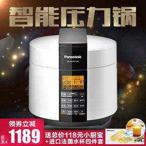 Panasonic/松下 SR-PNG501日本智能<span class=H>电</span><span class=H>压力</span><span class=H>锅</span>5L高压<span class=H>锅</span>饭煲预约正品