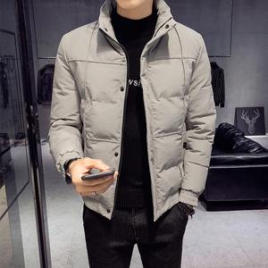 冬季<span class=H>棉衣</span><span class=H>男装</span>潮牌2018新款韩版个性帅气男士棉服潮流立领棉袄外套