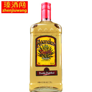 洋酒 墨西哥原装进口阿卡维拉斯金<span class=H>龙舌兰</span>750ML特基拉TEQUILA