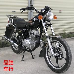 二手新款高配太子<span class=H>摩托车</span>美式表125CC跨骑式代步载货燃油摩托整车