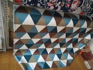布艺沙发 定制绒布麻布颜色花色色板2017新品 单人老虎椅布料