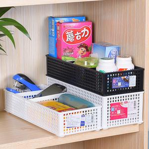 日本进口sanada桌面整理盒自由分格抽屉<span class=H>收纳盒</span>杂物收纳筐整理篮