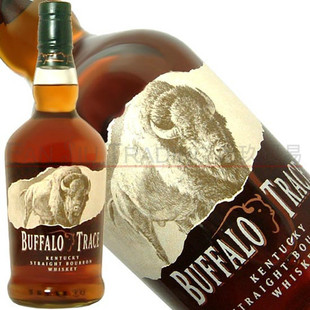 洋酒美国Buffalo Trace Bourbon Whiskey水牛足迹波本威士忌