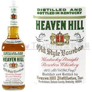 洋酒美国原瓶进口Heaven Hill Whiskey爱汶山波本<span class=H>威士忌</span>