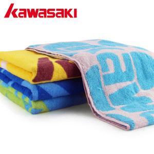 川崎运动<span class=H>毛巾</span>全棉加长款羽毛球跑步健身房成人吸汗擦汗巾男女速干