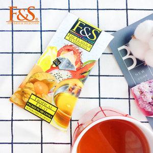FS斯里兰卡原装进口锡兰红茶F&S菲尔 木瓜味苹果草莓三角<span class=H>茶包</span>30g