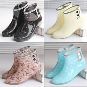 <span class=H>鞋子</span>平底小孩公主<span class=H>女鞋</span>胶鞋厚底户外短筒个性水靴低筒防水<span class=H>雨鞋</span><span class=H>雨靴</span>
