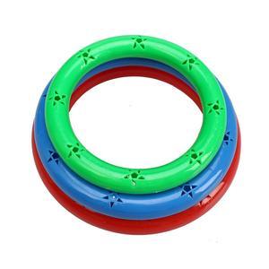 幼儿园早操器械道具大号有声哑铃幼儿健身体操环舞蹈铃塑料哑铃