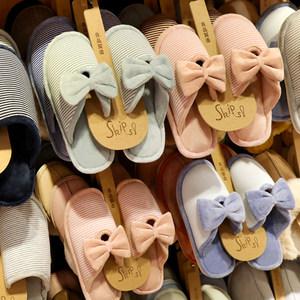棉<span class=H>拖鞋</span>女冬季室内可爱居家韩版月子鞋厚底保暖情侣<span class=H>拖鞋</span>家用男冬天