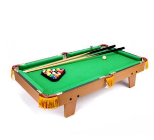 Q-皇冠大号木制台球桌套装家用桌上台球儿童<span class=H>玩具</span>桌面桌球桌游男孩