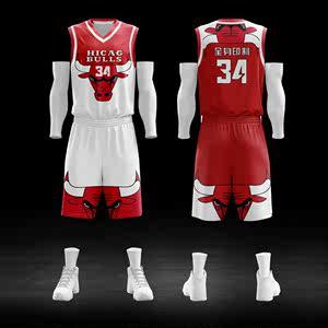 夏季短袖篮球服套装男女定制球衣运动训练比赛