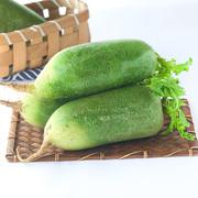 领3元券购买正宗水果萝卜生吃甜脆型新鲜蔬菜山东绿皮青萝卜5斤非潍坊沙窝