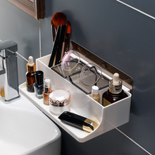Toilet, household goods, cosmetics, shelves, bathroom receptacles, wall-mounted washing tables, punch-free, nail-free suckers