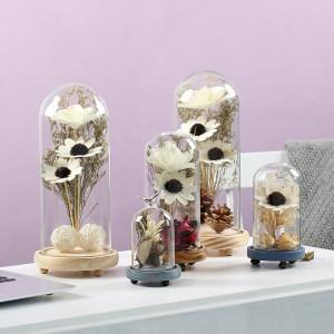 zakka干花<span class=H>永生花</span>玻璃罩摆件设家居房间装饰品创意小礼品生日礼物