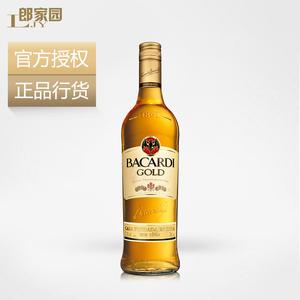 洋酒包邮Bacardi Gold Rum 百加得金<span class=H>朗姆酒</span>