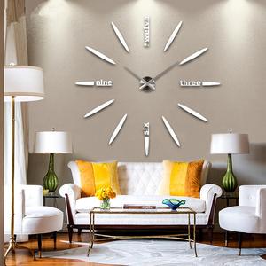 简约时尚超大钟表创意潮流挂钟客厅 现代diy艺术挂钟个性时钟挂表